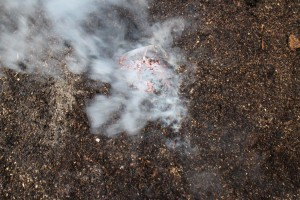 Raku Kupfermatt Keramik brennen