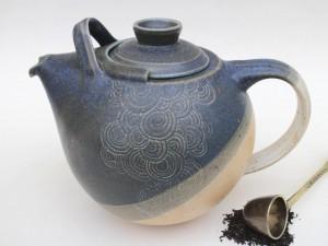Teekanne Steinzeug Keramik