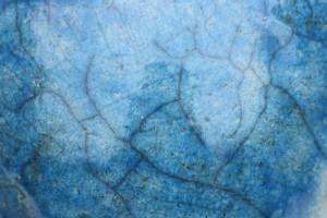 Krakelee Raku blau