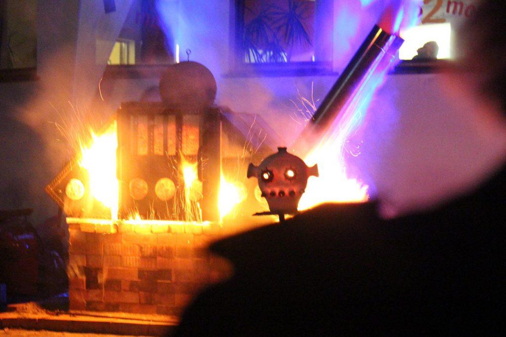 Feuershow Keramimarkt Höhr-Grenzhausen