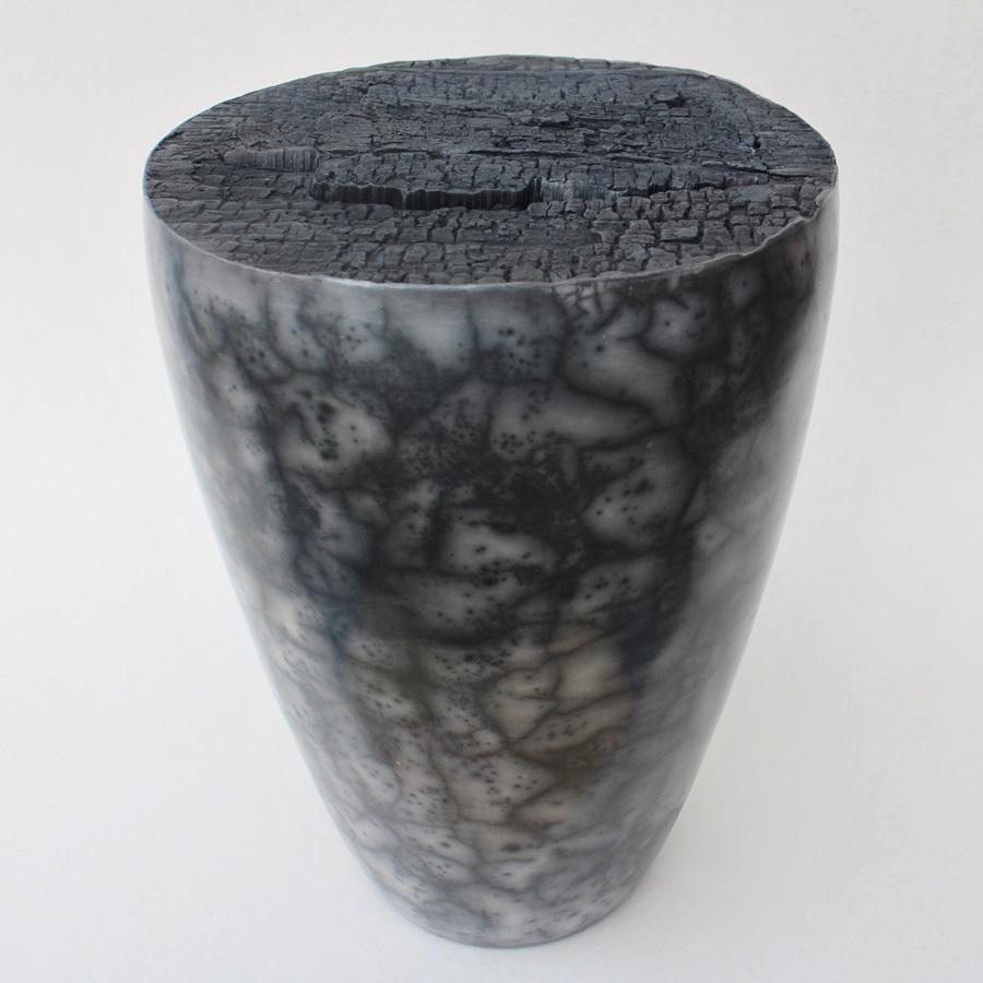 Dosenobjekt Naked Raku Keramik