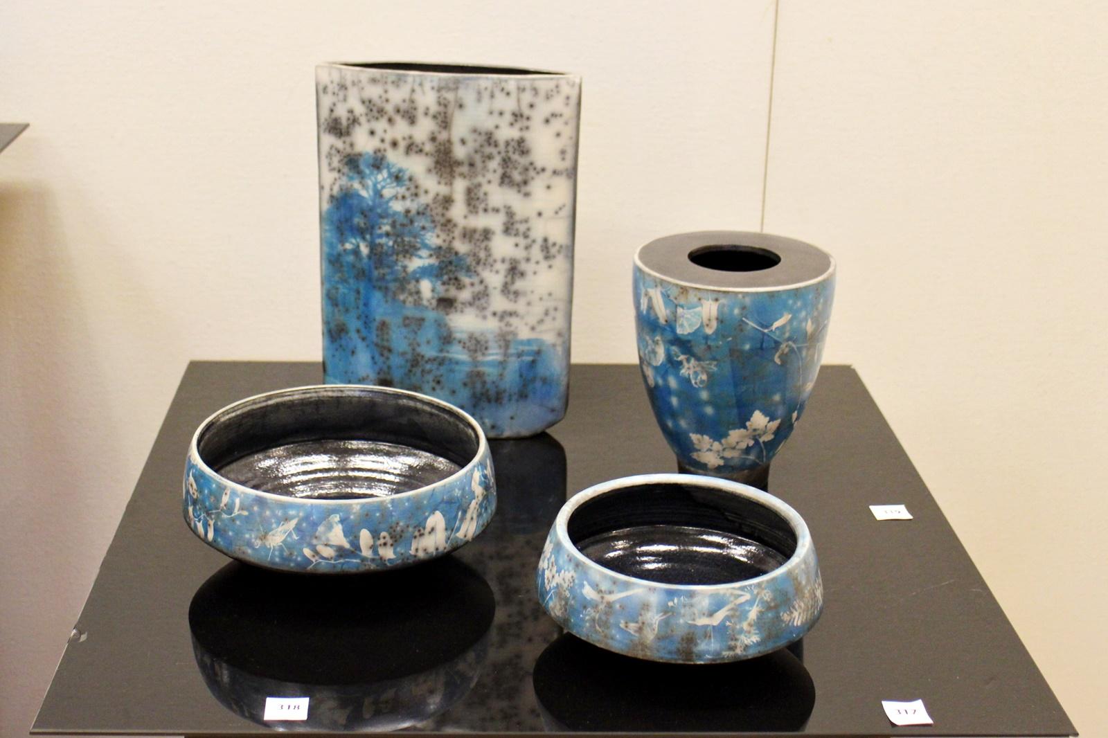 cyanotype ceramics