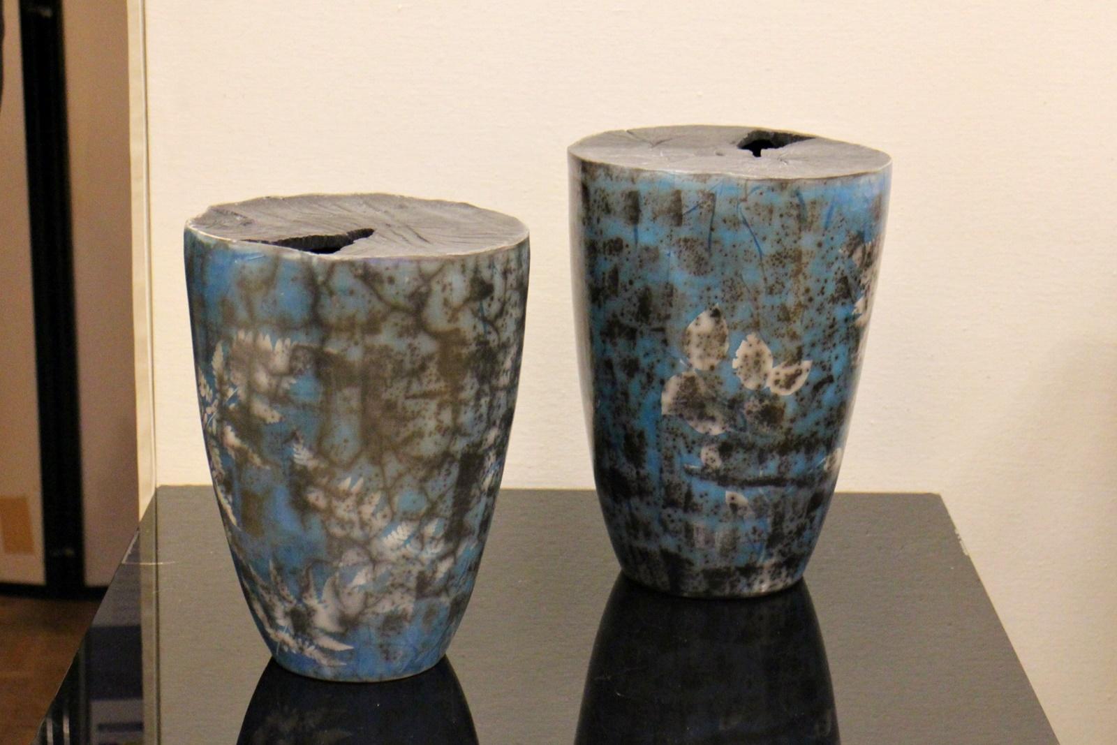 Cyanotypie Keramik