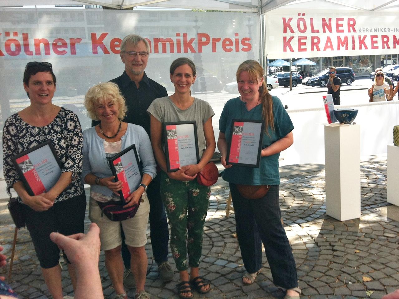 Preisträger Kölner Keramikermarkt