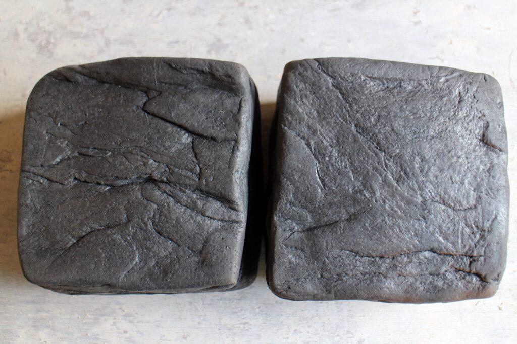Keramikdosen mit Steinstruktur